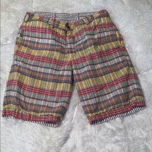 Tailor Vintage Reversible Shorts Khaki//Vintage Birds